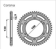 Janua service corona pbr acciaio al carbonio 300 for Honda corona service
