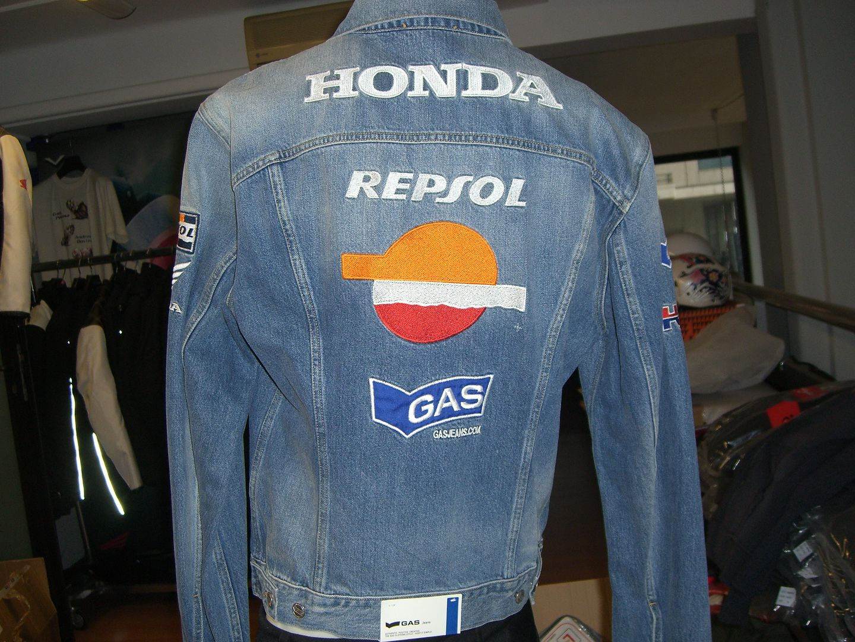Janua Service Giacca Jeans Honda Repsol Hrc Abbigliamento Honda