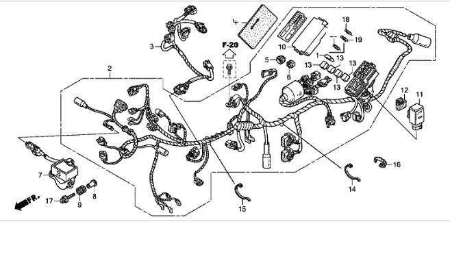 Schema Elettrico Honda Hornet : Schema elettrico honda shadow vt