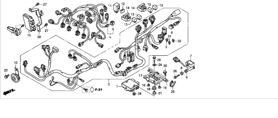 Schema Elettrico Honda Hornet 600 : Janua service hornet cb f