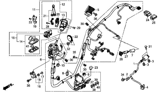 Schema Elettrico Honda Sh 300 : Janua service sh i abs new