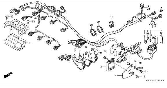 Schema Elettrico Honda Sh 300 : Janua service cbr rr