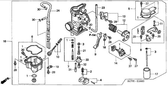 Xr 400 Engine Diagram